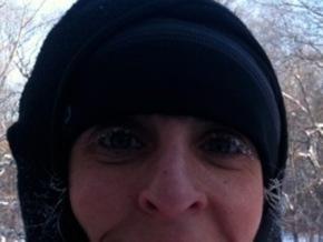 frosty eyes