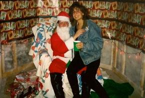 Me with Santa back in 1994