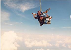 Lori Skydiving