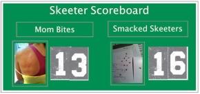 Skeeter Scoreboard