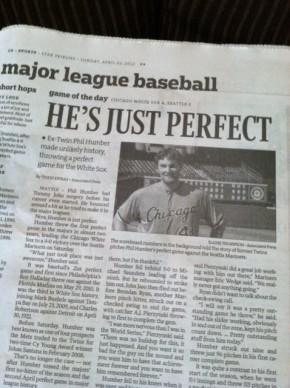 perfect baseball